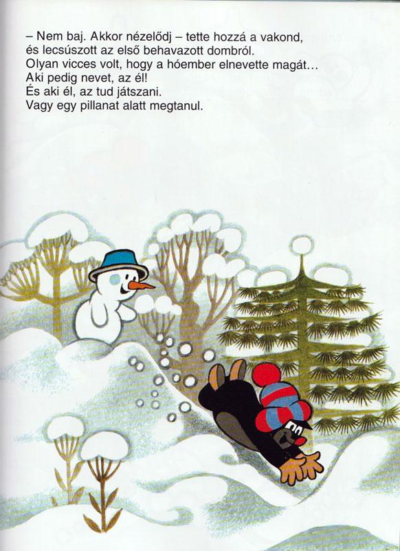 A vakond és a hóember